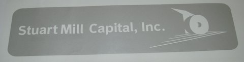 ETCHED BUSINESS LOGO DECAL